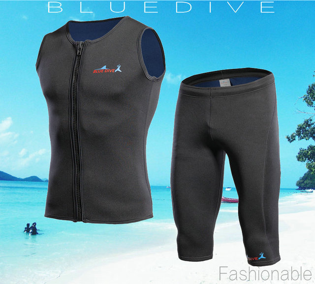 2118a120322 neoprene 3mm wetsuit triathlon suits spearfishing surf two piece diving  suit rash guard wet suit