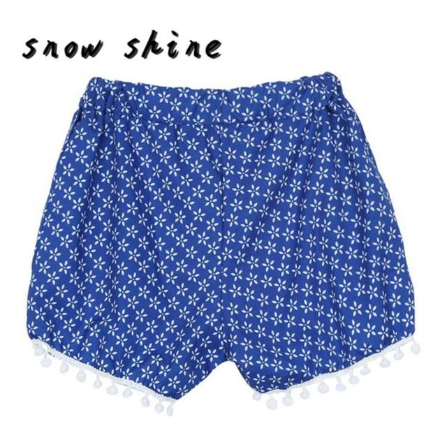 snowshine  #1501  Women Casual Tassel Shorts High Waist Beach  free shipping