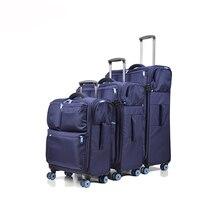 Новый 20''24''28'' Оксфорд чемодан прокатки Чемодан чашку Spinner чемодан с колесами чемодан с выдвижной ручкой малая де viage вести Чемодан