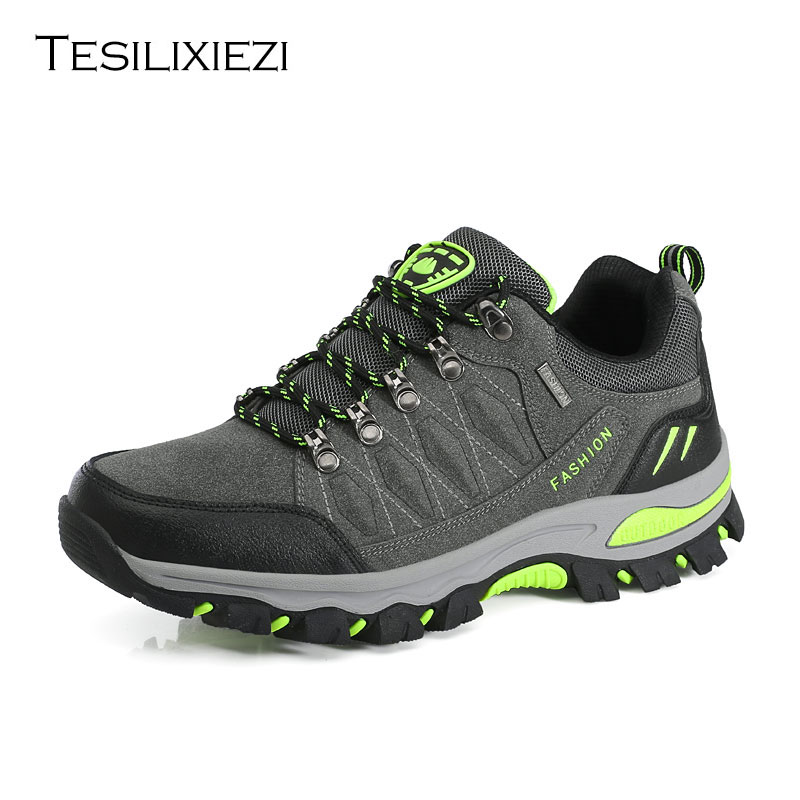 Men's Hiking Shoes Antiskid Trekking Mountain Trainers Outdoor Men's Hiking Shoes