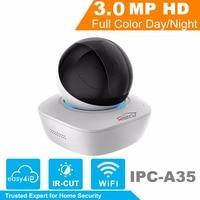 HiSecu WiFi IP Camera IPC A35 3MP Wireless Security IP Camera 16x Wi Fi Network PT