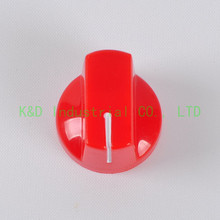 10pcs DIY 17*15mm Red Control ABS Plastic Knobs for Guitar Amp Effect Pedal