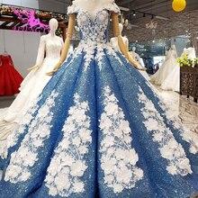 AIJINGYU Dantel Vintage Gelinlik Düz Önlük Kraliçe Frocks Uzun Geri Ayıklaması Gelin Lüks Gelinlik düğün kıyafeti