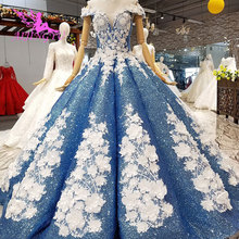 AIJINGYU Lace Vintage Wedding Dresses Plain Gowns Queen Frocks Long Back Weeding For Bride Luxury Gown Wedding Wear