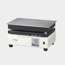 Electric Digital Display Constant Temperature Heating Plate 220V 1200W Laboratory Preheating Platform Graphite DB-1EFS digital constant temperature heating platform preheating station hot plate heat platform heating plate 220v 800w 200 200mm