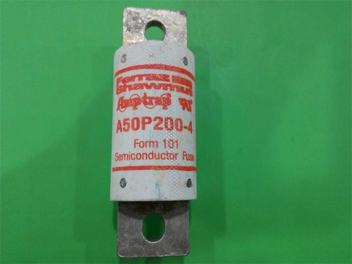 Free shipping 5pcs A50P200-4 Ferraz French fuse fuses 200A 500VAC new genuine 4 200 4 200 500