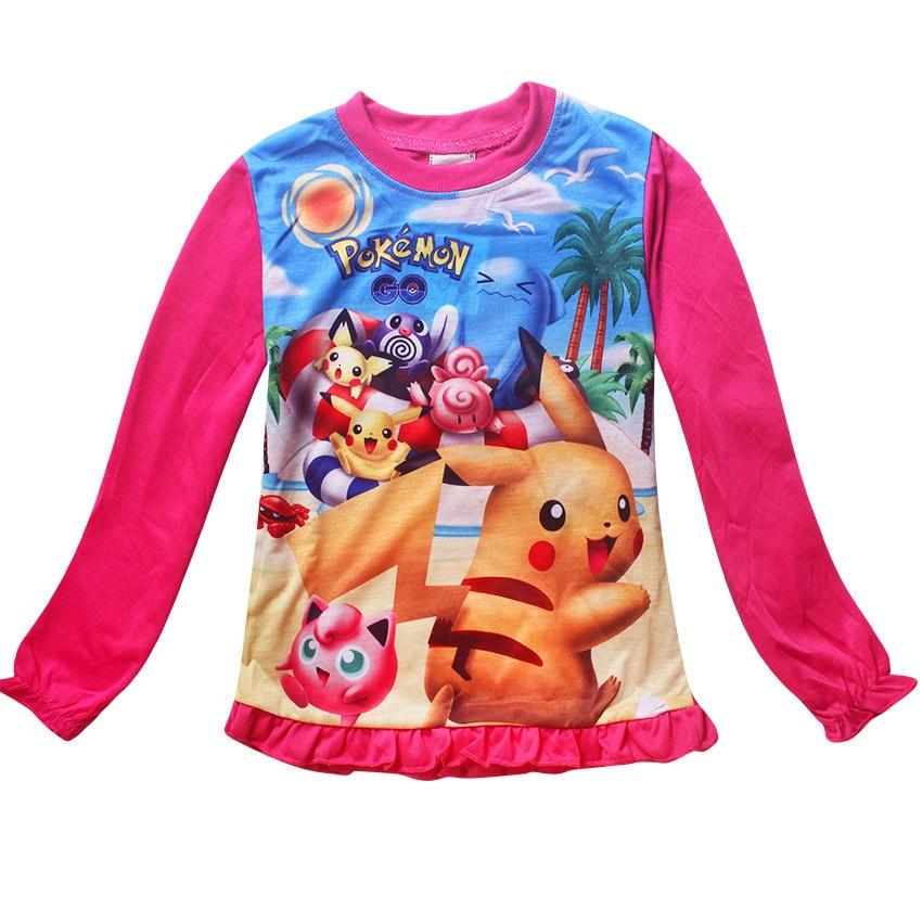 1f416bec4bec los angeles b88fa 96fcc 2017 children pokemon pikachu pajamas suit ...
