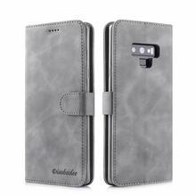 Para samsung samsun galaxy note 9 8 note8 couro flip book carteira suporte de telefone caso etui caso caso para s9 s8 s 9 mais coque