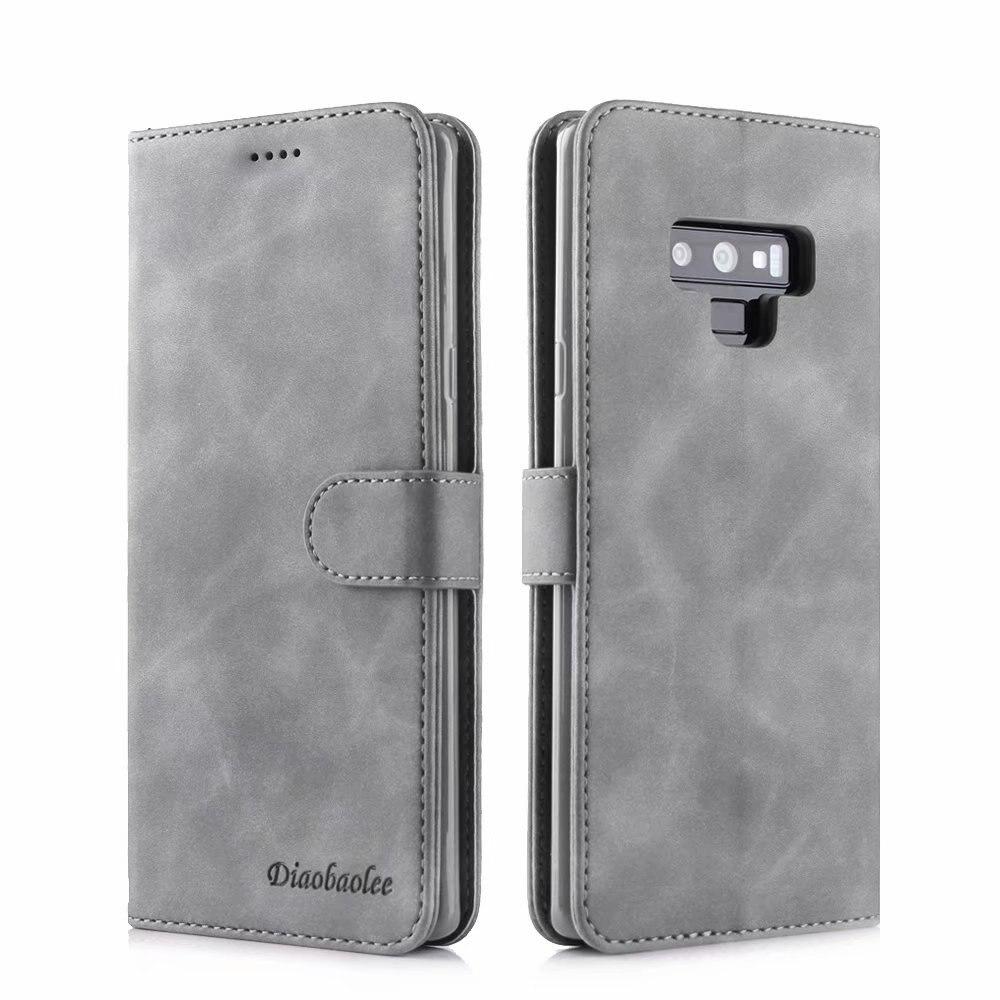 Para Samsung Galaxy Note Samsun 9 8 Note8 Livro Wallet Suporte de Couro Flip Caso de Telefone caso Da Tampa Do estojo Para S9 9 S8 S Além de Coque