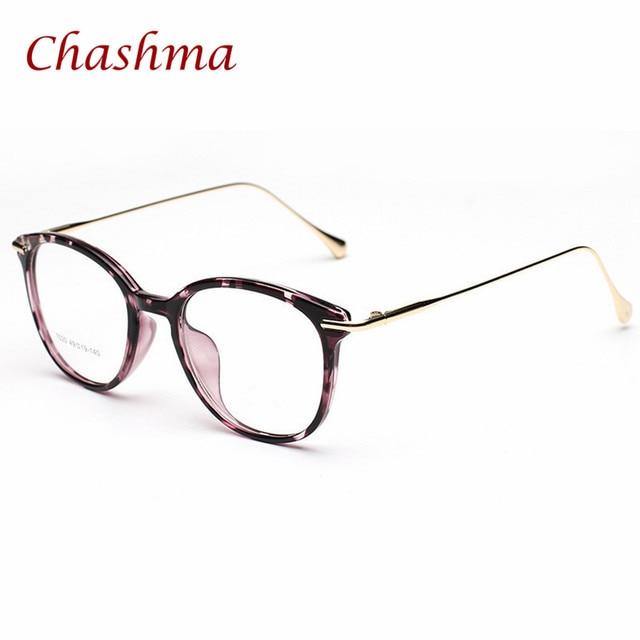 Chashma Brand TR 90 Round Eye Glasses Vintage Prescription Glasses ...