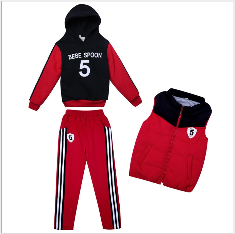 Children Clothing Winter Boutique Hoodie Pink red Long Sleeve cute Suits School Girl Outfit Girls Clothes For 10 Years Tracksuit пуховики boutique children s clothing 1305 2015