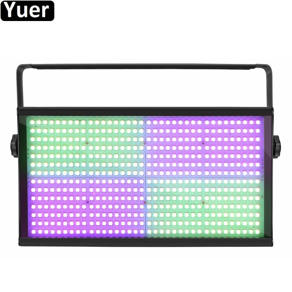 New Stage Strobe Light 504pcs LED RGB 3IN1 Strobe Lights 5050 SMD Lamp Beads DJ Disco Light For Wedding Party Club Bar Nightclub
