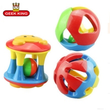 3PCS/Set Lovely Funny Baby Rattles Plastic Music Novelty Hand Shake Bell Ring Early Learning Educational Toys toys