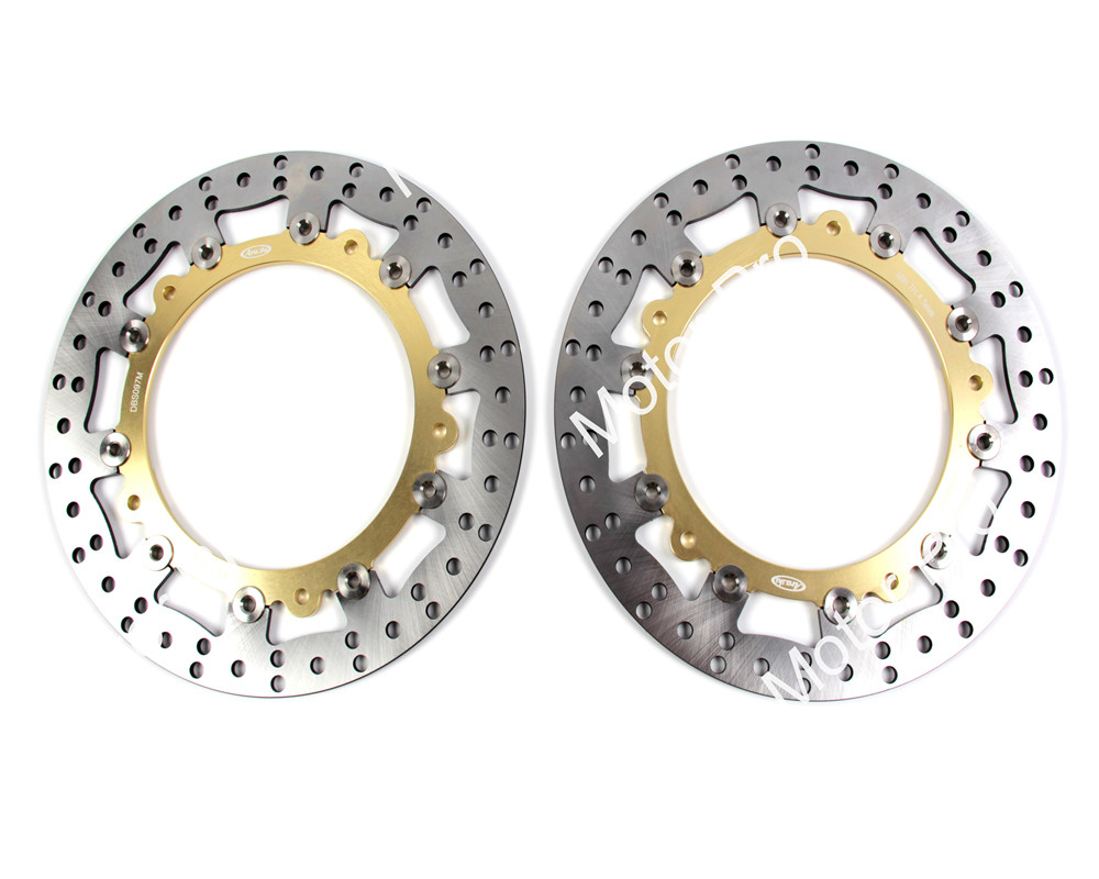 2 PCS CNC Motorcycle Front Brake Disc FOR BMW R 1200 GS ABS 2004 2005 2006 2007 2008 2009 2010-2015 R 1200 GS brake disk Rotor