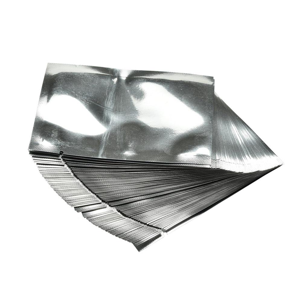 Silver Aluminum Foil Mylar Bag Package Vacuum Sealer Food