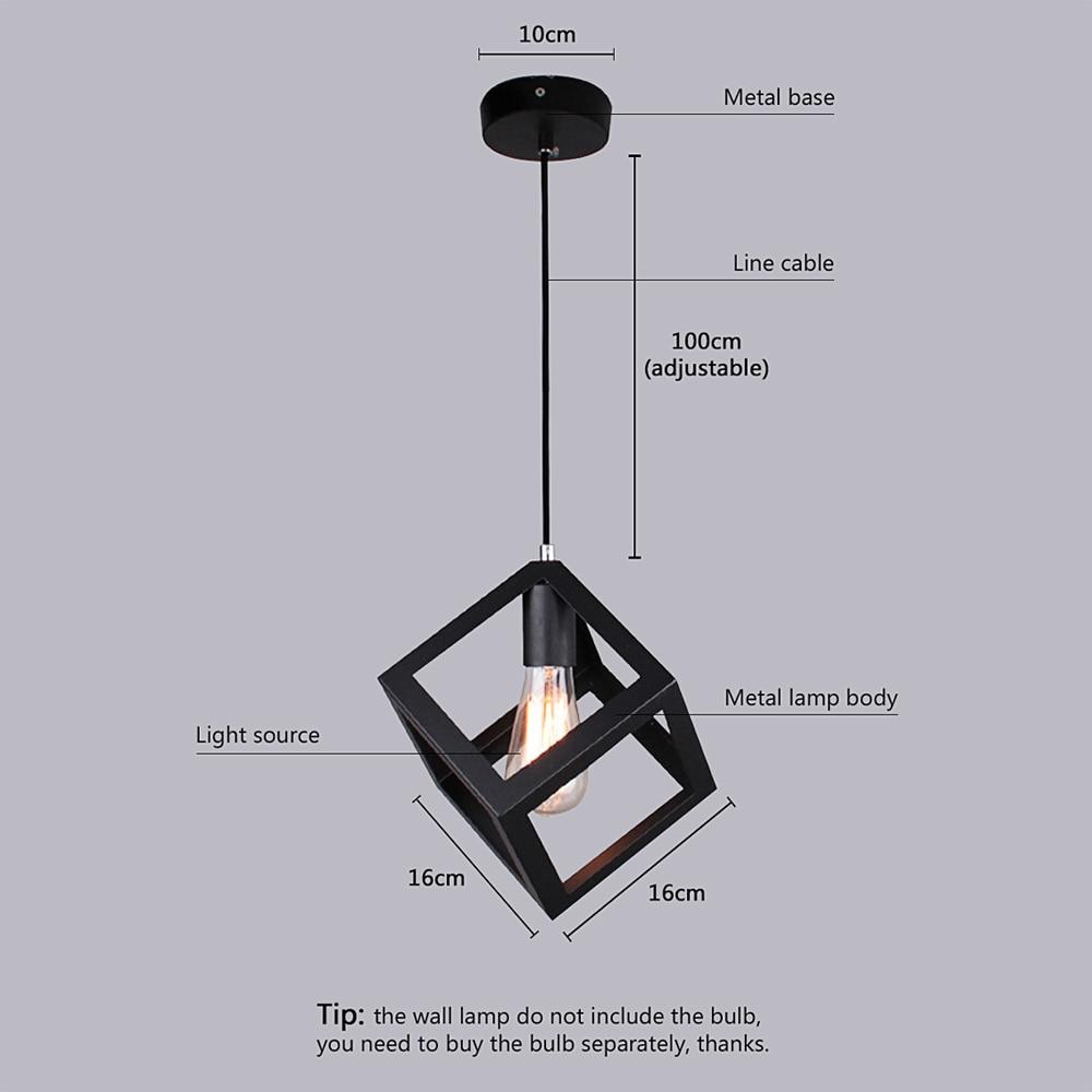 Living Room Quartet light loft picture - more detailed picture about pendant lamp