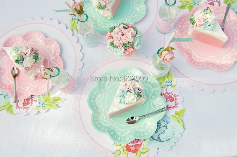 1 Set Pink stylish partyware Disposable Doily Lace Scallop Paper Tableware Set Party Paper Cups Plates Napkins Cupcake Wrappers on Aliexpress.com | Alibaba ... & 1 Set Pink stylish partyware Disposable Doily Lace Scallop Paper ...