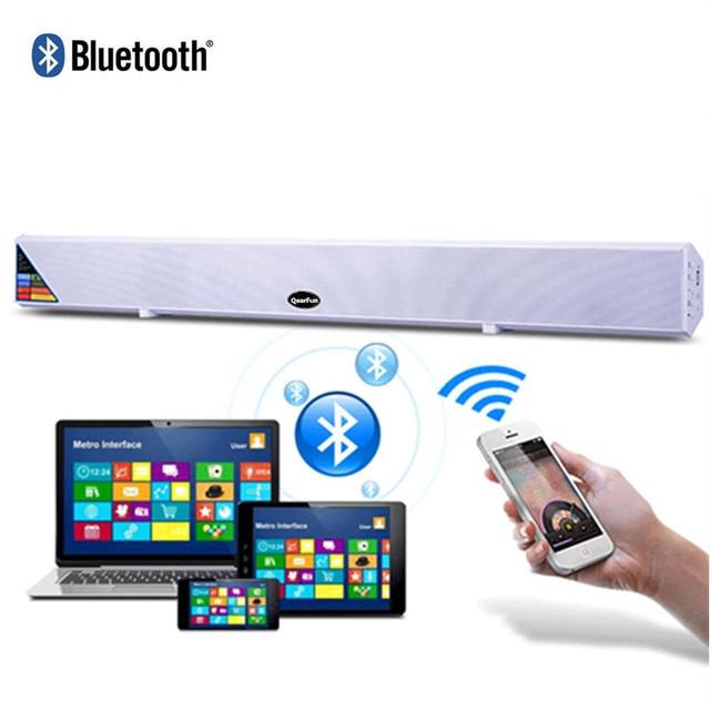60w Bluetooth Tv Sound Bar Speaker Home Theater Surround Soundbar Wireless Box Subwoofer