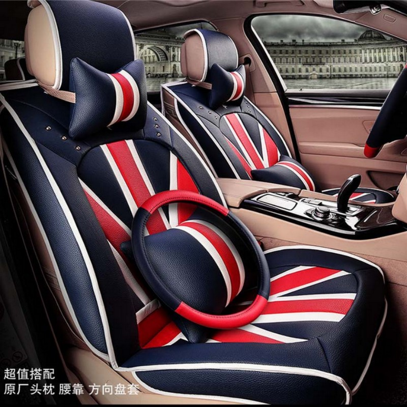 Universal Car Seat Cover England Style Very Cool High
