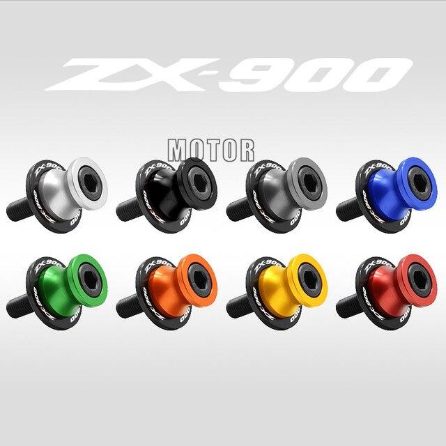 10MM Swingarm Slider Motorcycle Stand Paddock For Kawasaki Ninja ZX-9R ZX900 1998-2003 ZX9R ZX 9R 9 R 900 Swing Arm Screws Cover
