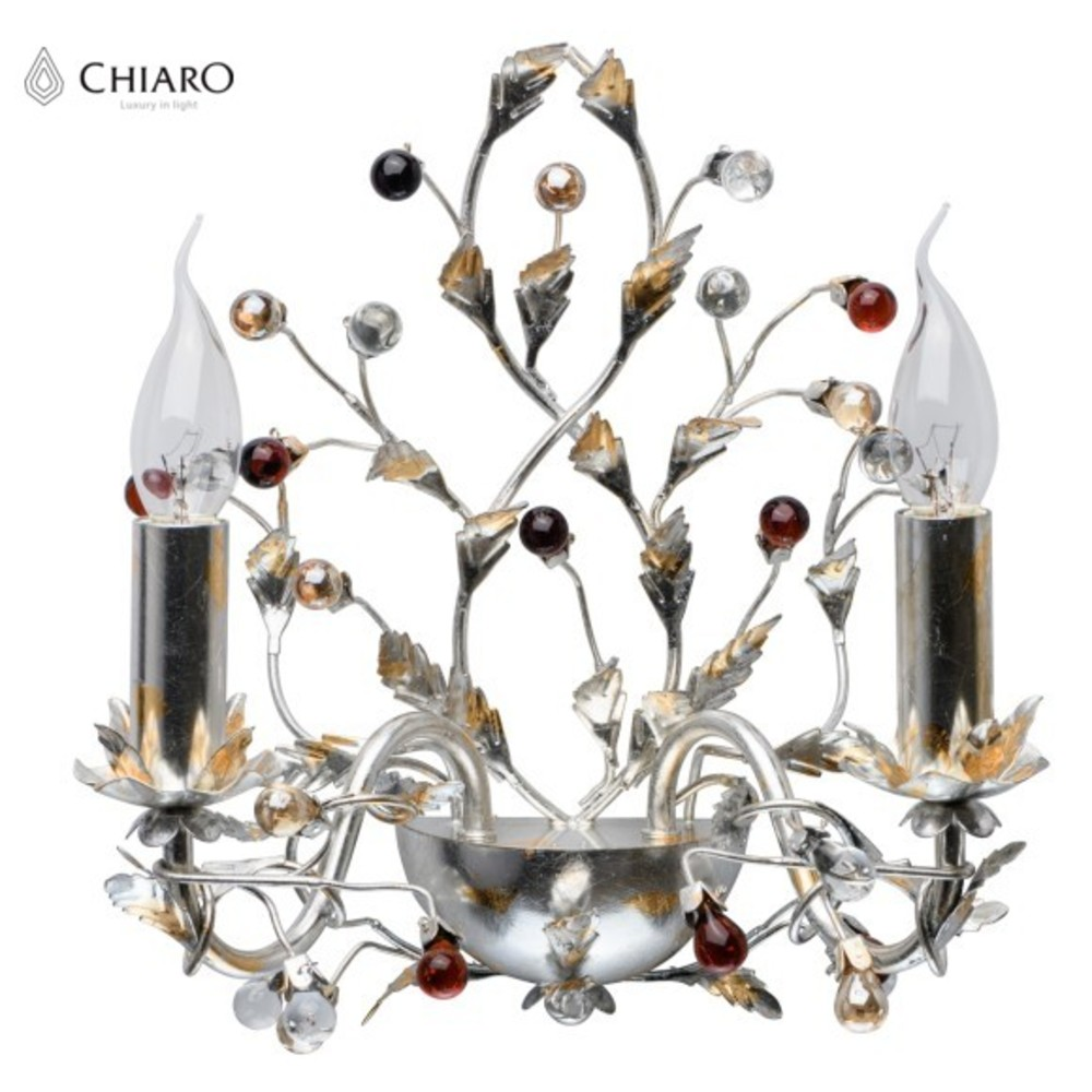 Wall Lamps CHIARO 298023102 lamp Mounted On the Indoor Lighting Lights chrome deck faucet package wall mounted