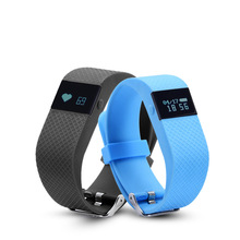 TW64S Heart Rate Monitor Bracelet Bluetooth Activity Smartband Fitness Health Tracker Wrist Pedometer Watch For Xiaomi Android