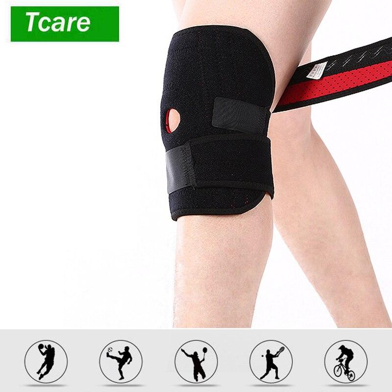 1 шт. наколенника Поддержка рукавом для артрит, ACL, бег, Баскетбол, разрыв мениска, спорт, спортивные, открыть коленной чашечки протектор