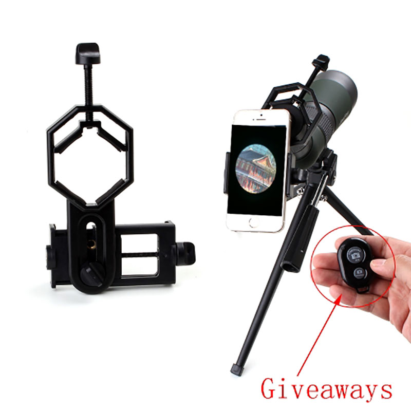 Lambul Universal Camera Adapter MOunt Compatible For Binoculars Spotting scope