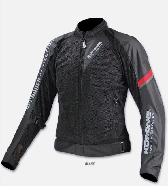 Free shipping summer breathable mesh motorcycle jacket men