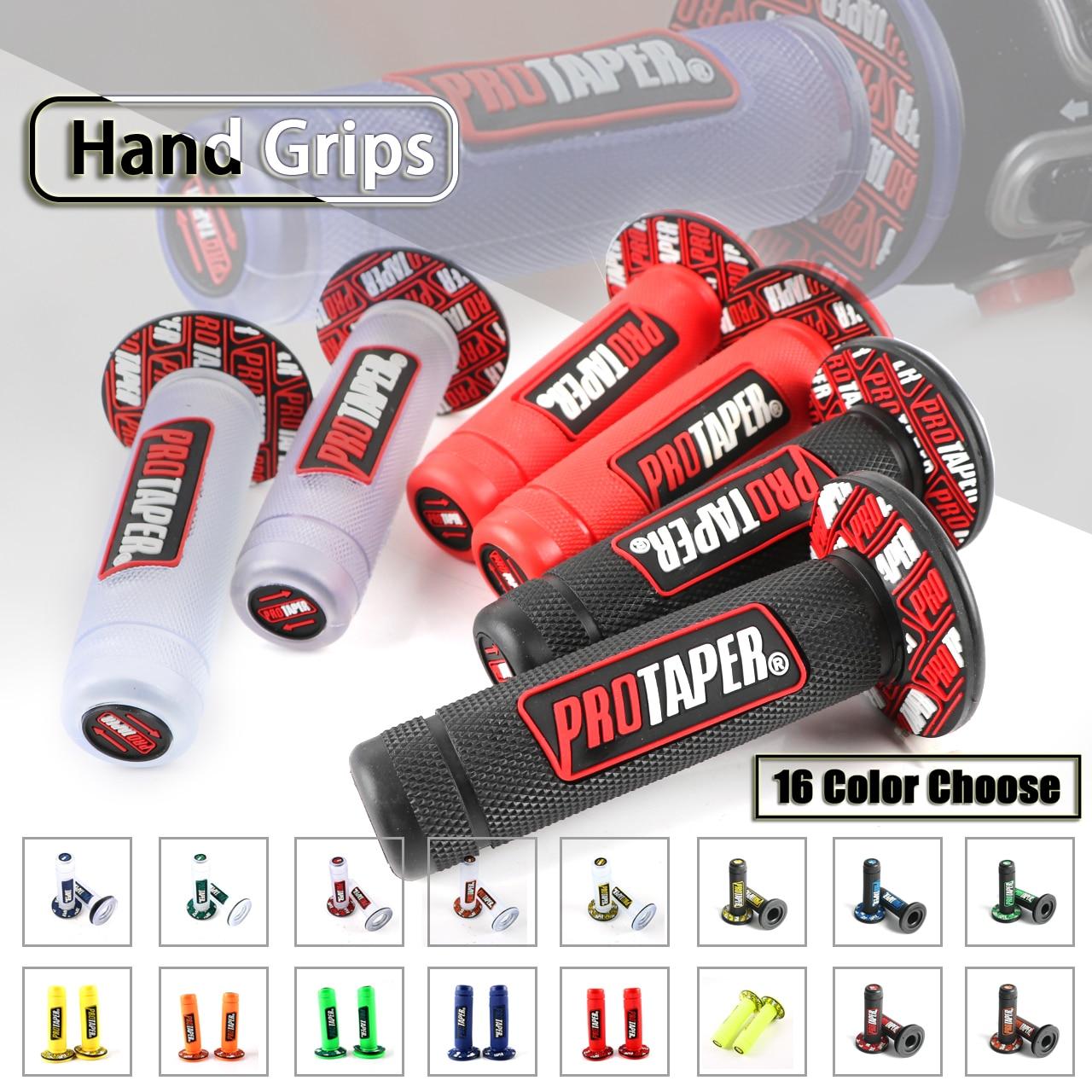 "Motorcycle throttle ATV Dirt pit Bike US Rubber Handle bar Hand Grip 7//8/"" 22mm"