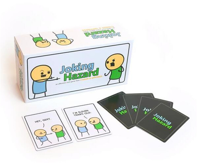 360 Cards Joking Hazard Party Game Funny Games For Adults With Retail Box Comic Strips Card Games