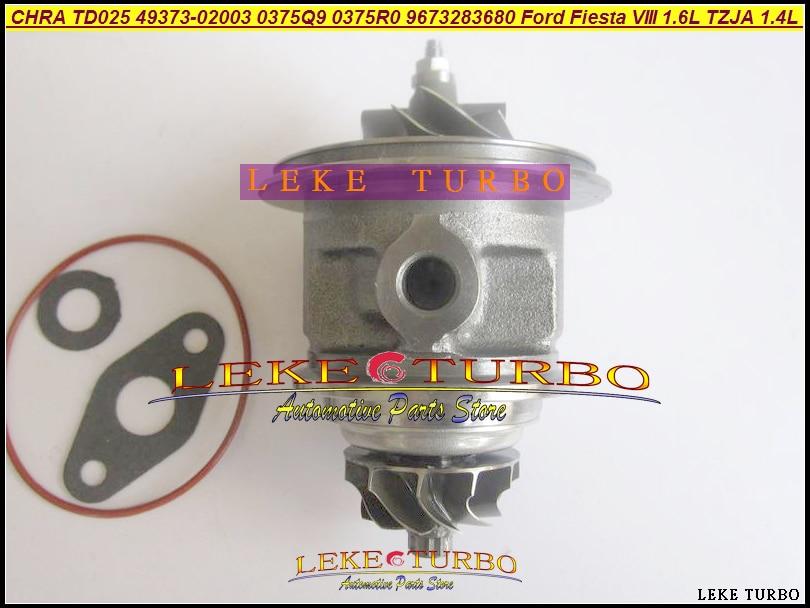 Turbo Cartridge CHRA 49373-02013 49373-02003 49373-02002 For Peugeot 2008 208 308 For Citroen C3 Berlingo DS 3 DV6ETED4 1.6L HDI turbo cartridge chra core gt1544v 753420 740821 750030 750030 0002 for peugeot 206 207 307 407 for citroen c4 c5 dv4t 1 6l hdi