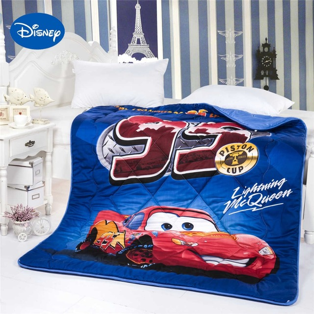 Lightning McQueen Cars Printed Comforter Disney Cartoon Character ... : boys quilt - Adamdwight.com