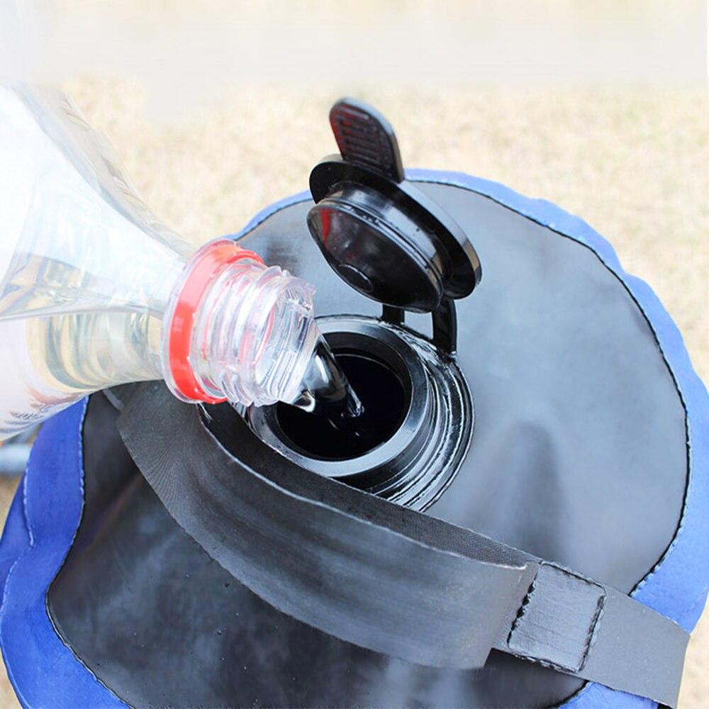 pé leve saco água para acampamento ao ar livre