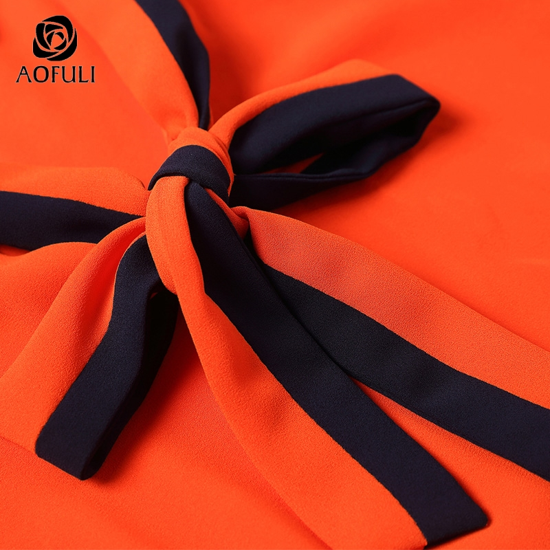Rock Bluse 4xl Größe Frauen Mermaid xxxl Bestickt 9045 Outfit Orange Plus Set Blumen 5xl Anzug Aofuli Twinset Blue M oCrdWxBe