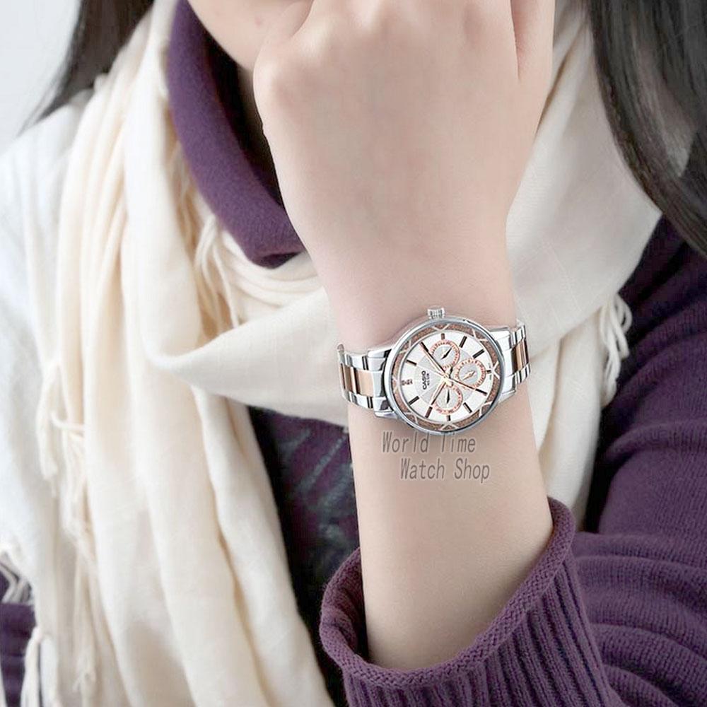 Casio horloge Analoge vrouwen Quartz Sport Horloge Fashion Business Waterdicht Horloge LTP 2087-in Dameshorloges van Horloges op  Groep 3
