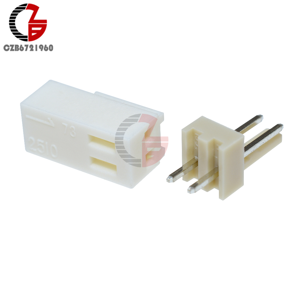 50Stks NEU KF2510-4P 2.54mm Pin Header+Terminal+Housing Connector Kits