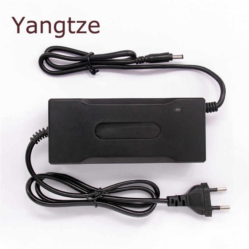 Yangtze Auto-Stop 67,2 V 2A литиевая батарея зарядное устройство для 60 V Li-Ion Lipo аккумулятор охлаждения с вентилятором внутри
