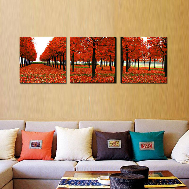 3 Picture Combination Luck Precision Printing Mangrove Sharp Scenery ...