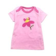 Baby Clothing children t shirts Space rockets Print Kids Baby Boy Tops Short Sleeve T-Shirt Summer Tee