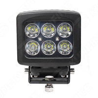 5.3 inch 60W LED Work Light 12V~30V DC LED Driving Offroad Light For Boat Truck Trailer SUV ATV LED Fog Light Waterproof