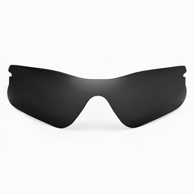 a6a174e080 Walleva Polarized Black Replacement Lenses for Oakley Radar Range Sunglasses