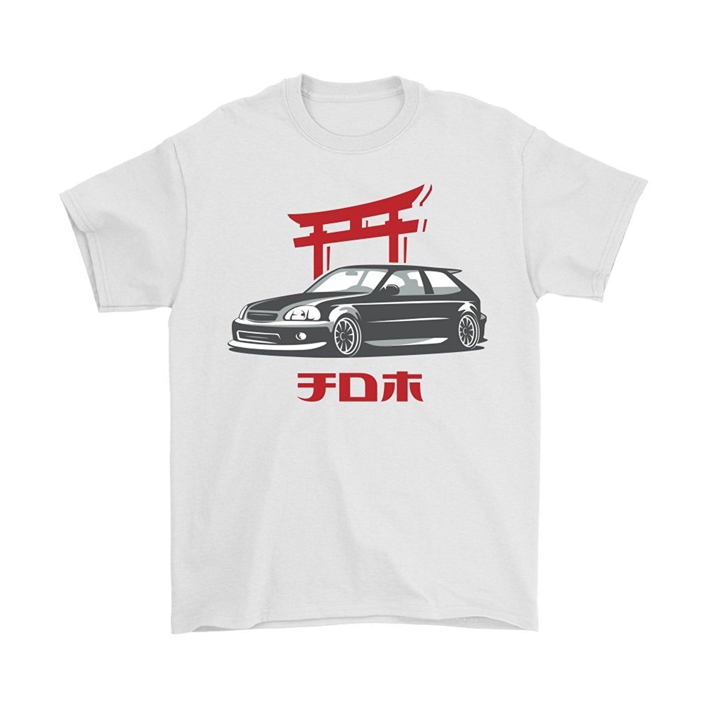 Newest 2018 Men T Shirt Fashion Japanese Classic Car Civic ...