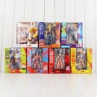 Z Figura Bola dragão SHF S. H. Figuarts Son Goku Vegeta Trunks Modelo Brinquedo DBZ Vegetto Super Saiyan espaço Pod