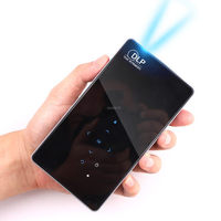 RUISHIDA X1 Handheld Pico Projector 4500 Mah HD 1080P Quad Core Android 4 4 Wifi Mini
