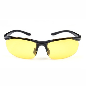 Night vision glasses polarized sports driving classical UV400 brand designer yellow glasses for driver