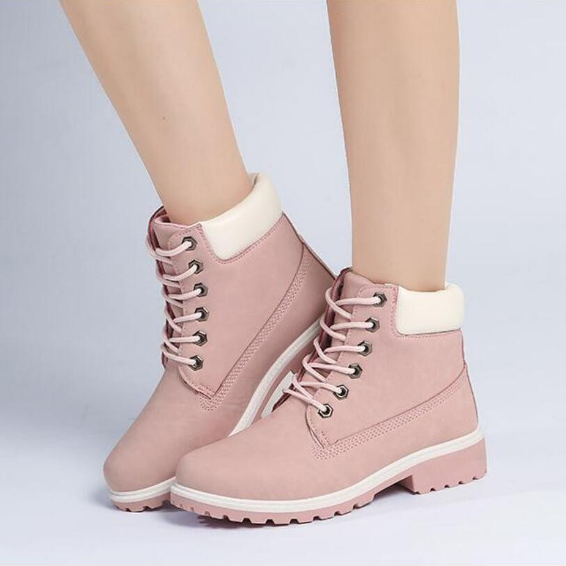 D H Brand Boots font b Women b font 5Colors High Top Casual Shoes 2016