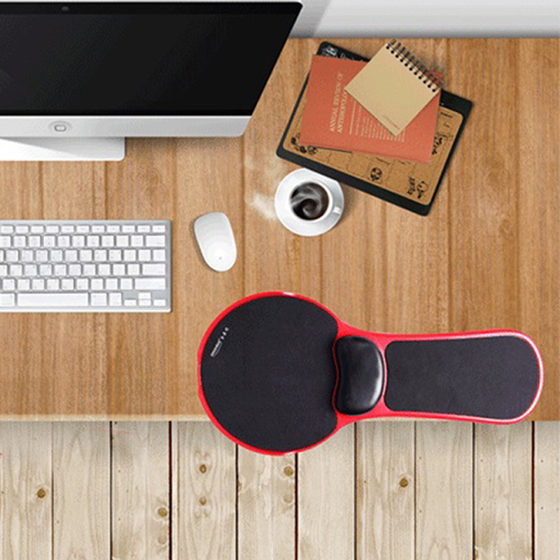 Ergonomic Desk Attachable Computer Table Arm Support Mouse Pad Arm Wrist  Rest Pad Mat Hand Shoulder Protect Pad Chair Extender In Mouse Pads From  Computer ...