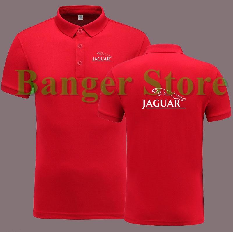 Jaguar 4S car logo shop POLO shirt short sleeve overalls work ...
