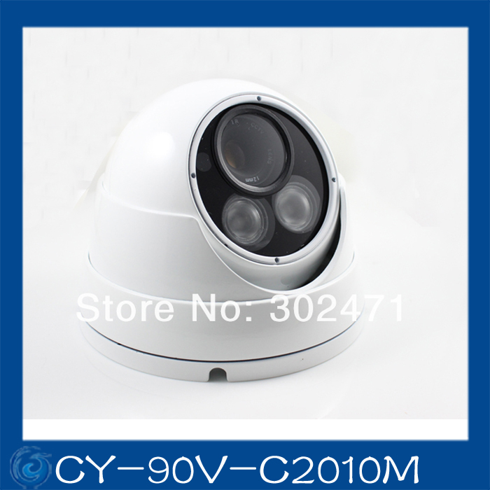 1/3 Sony CCD 480TVL633+4140 OSD menu array leds IR 30m outdoor waterproof cctv camera with Bracket..CY-90V-C2010M 1 3mp single array leds c mount sony 600tvl lens ir cctv ccd hd waterproof camera